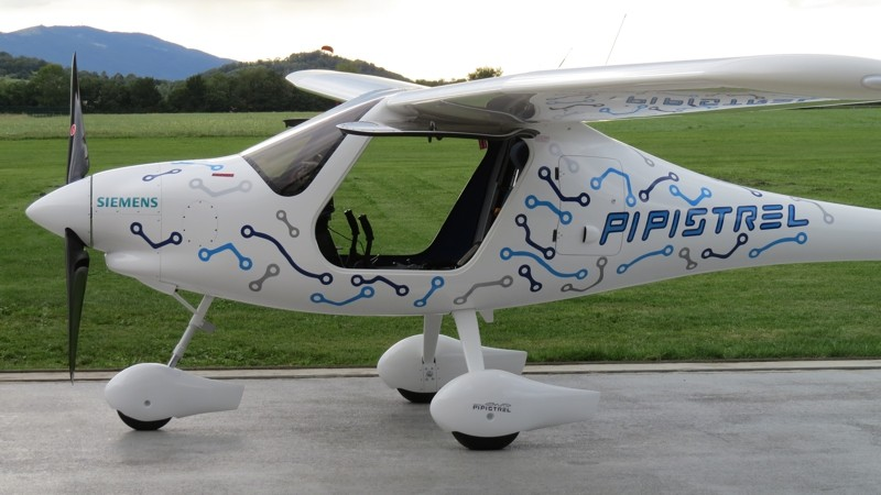 Alpha Electro - two-passenger electric training aircraft